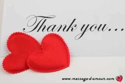 Messages Pour Dire Merci Mon Amour Message D Amour