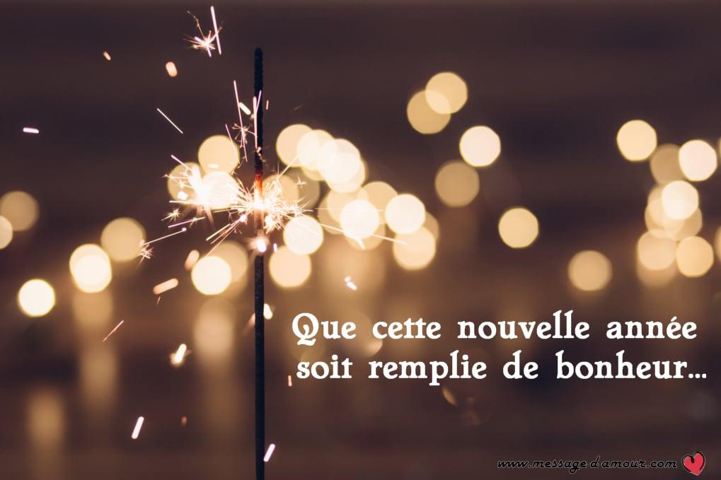 Sms Original Pour Souhaiter Bonne Année 2019 Message Damour