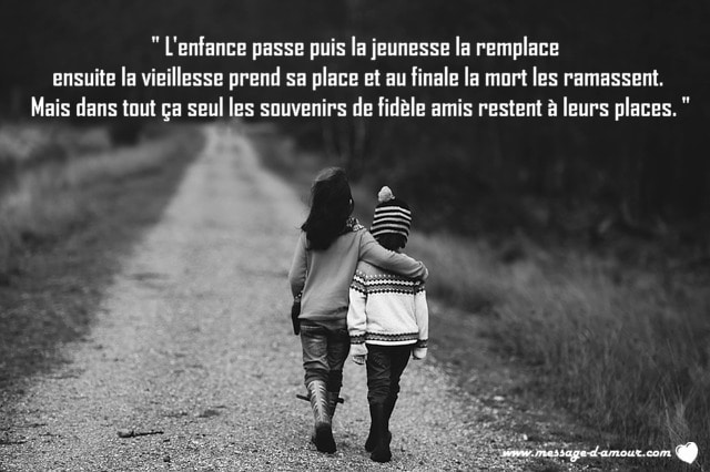 Citation d'une belle rencontre amitie