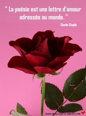Jolies Poèmes Damour Message Damour