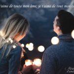 SMS d'amour romantique et sensuel