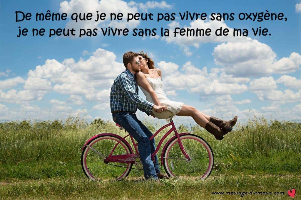 Message Damour Pour La Femme De Ma Vie Message Damour