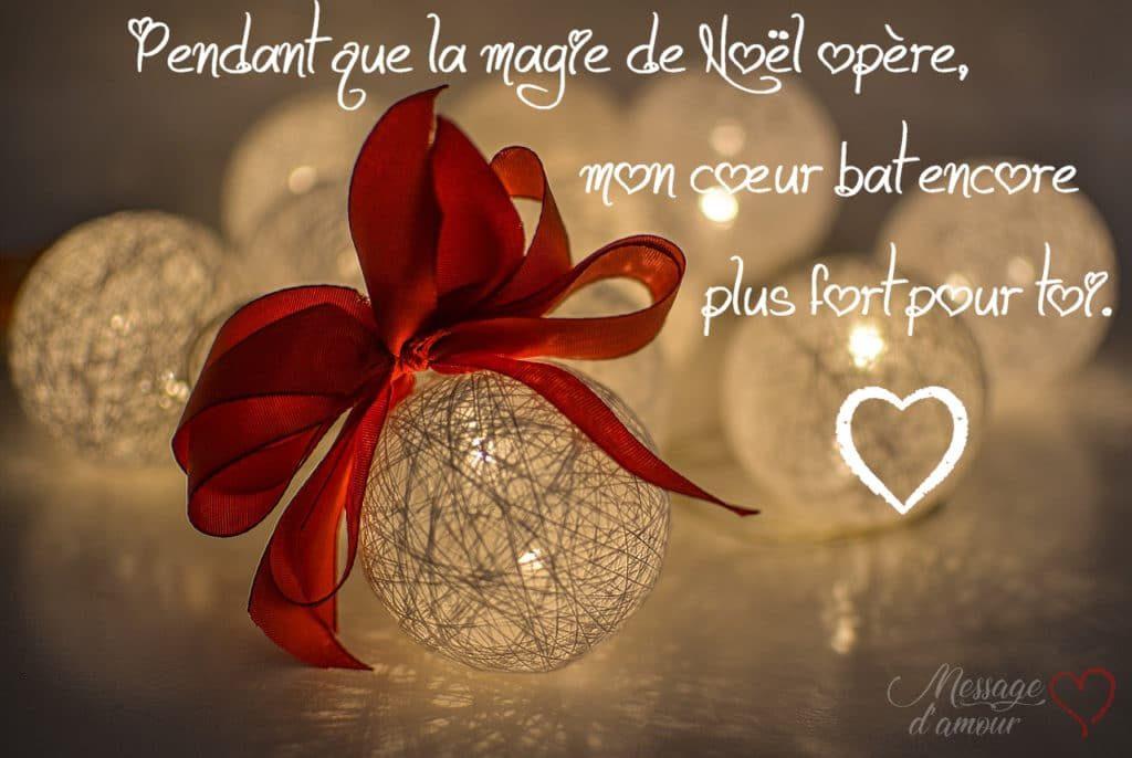 Messages Romantiques Pour Souhaiter Un Joyeux Noël Message