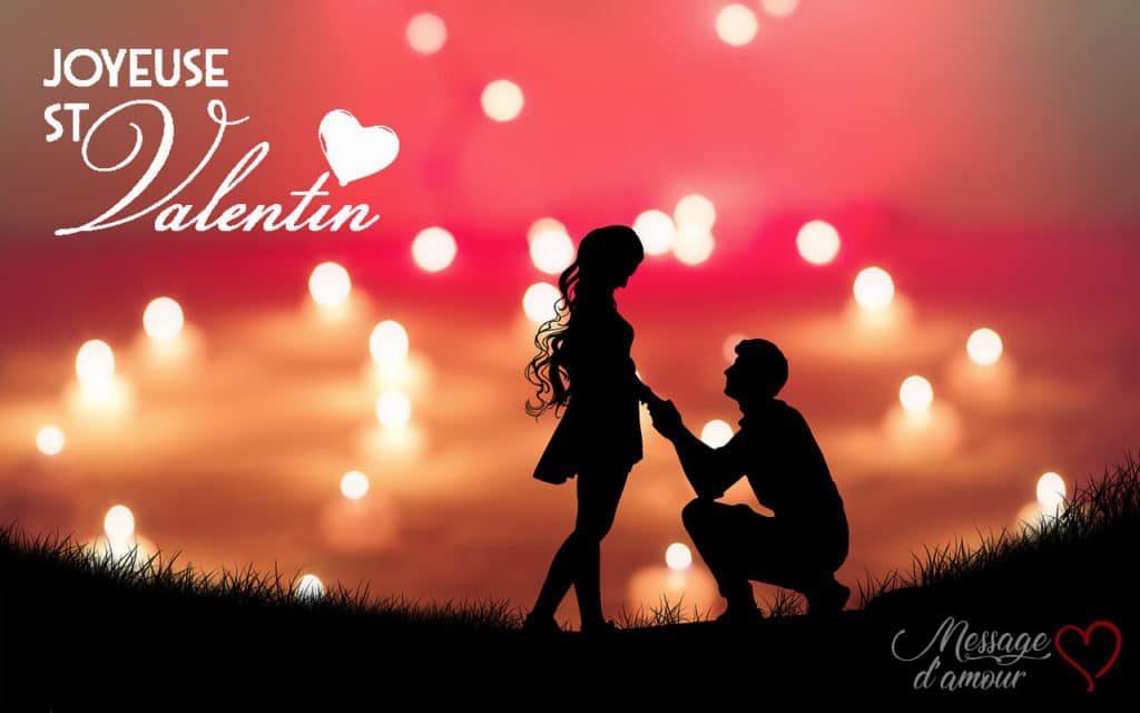 Messages pour la Saint Valentin