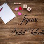Le 14 février joyeuse Saint Valentin