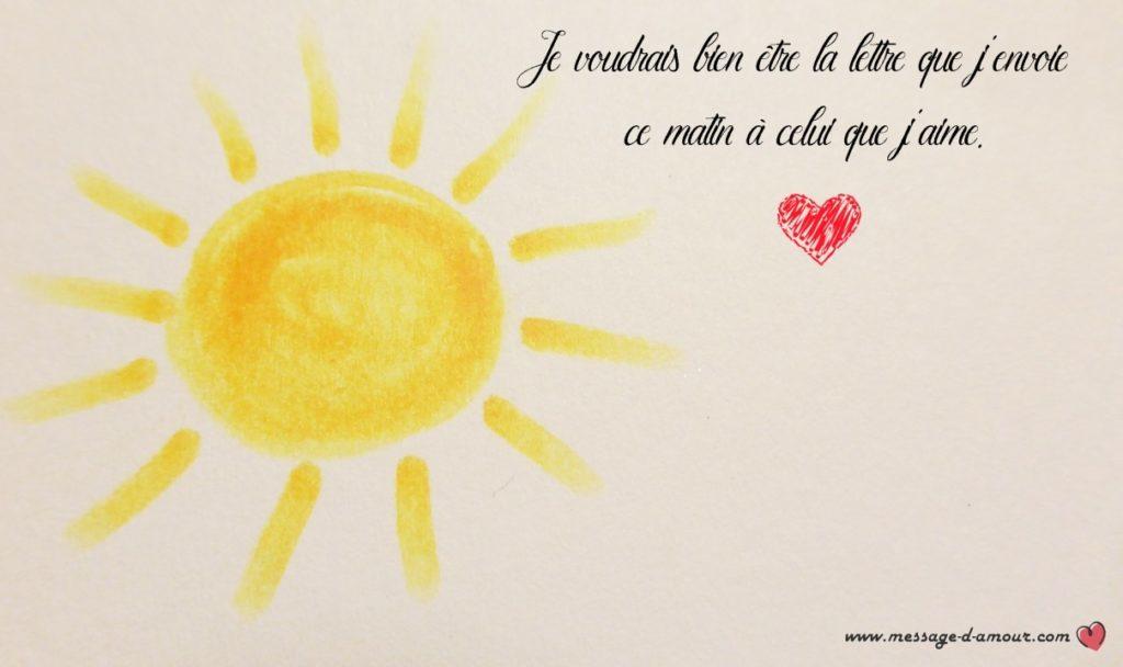 Mots doux pour dire bonjour son homme message d 39 amour - Un gros coeur d amour ...
