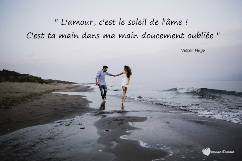 Citation d'amour romantique