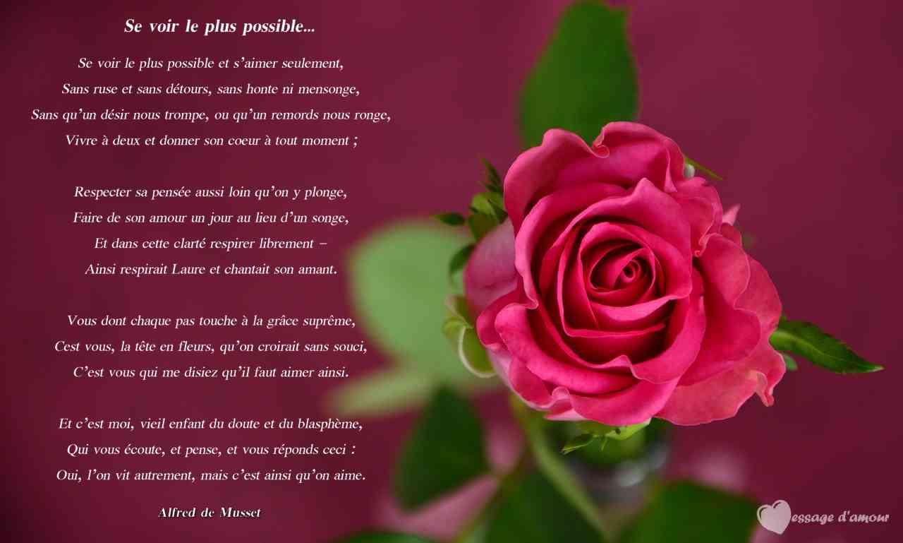 Poème Damour Le Plus Court Chemin Vers Le Coeur Message