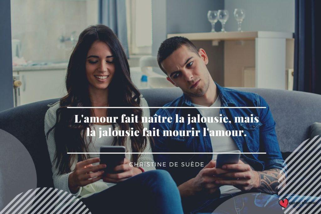 Couple jalousie