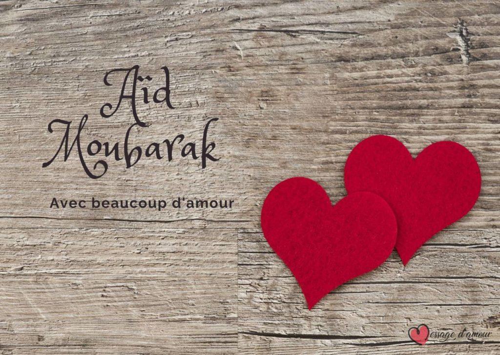 Aid Moubarak avec beaucoup d'amour