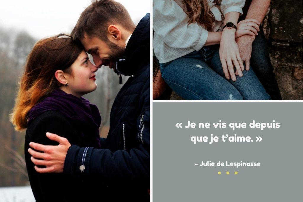 Couple citation Amour Photo Montage