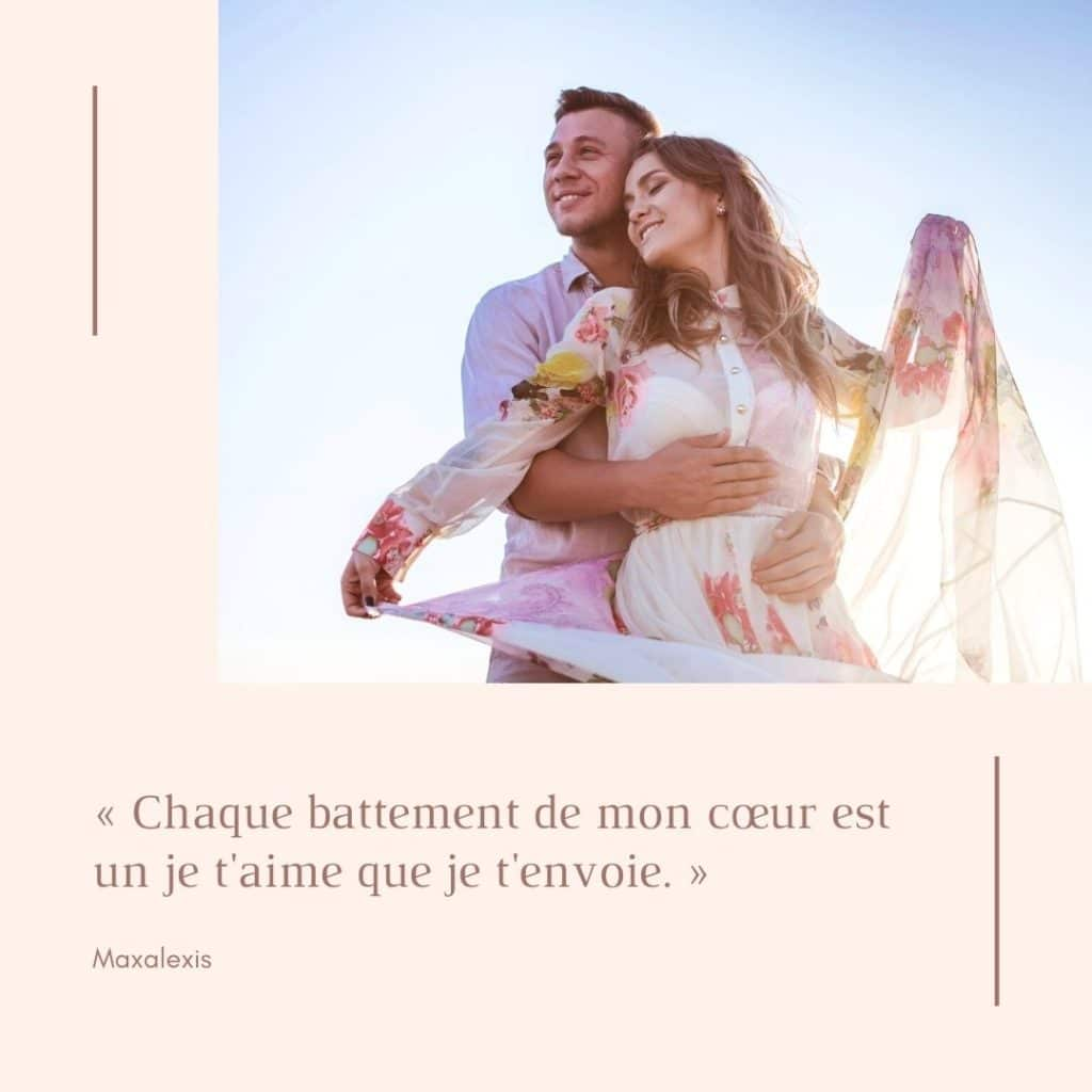 Citation d'amour couple