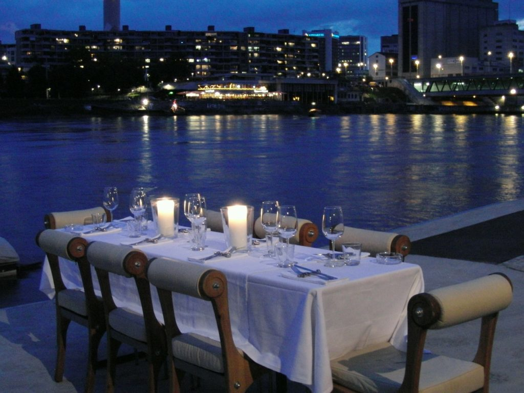 Diner croisière sur la Seine