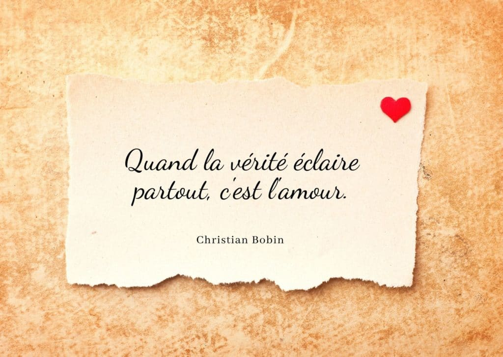 Citation Bobin Christian