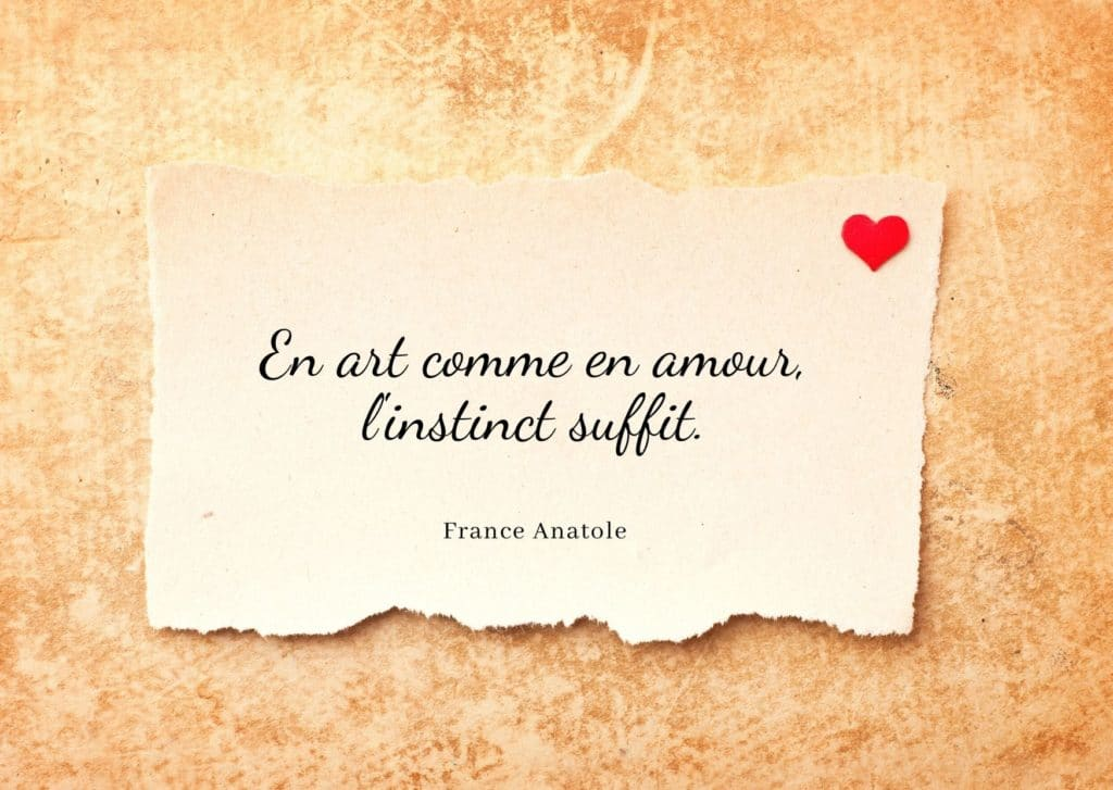 Citation France Anatole