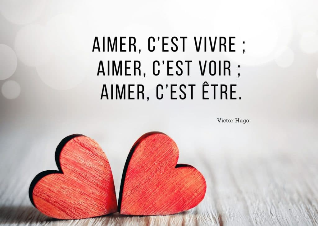 Citation d'amour Victor Hugo