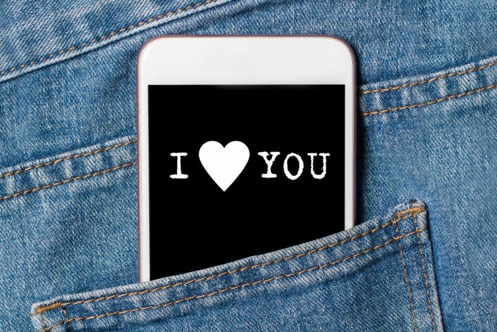 court message d'amour